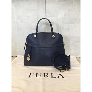 f61cc69c221f フルラ(Furla)のフルラ FURLA パイパー M レディース ハンドバッグ ネイビー ブルー(ハンドバッグ)