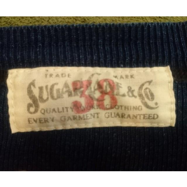 Sugar Cane(シュガーケーン)の珍しい!SUGAR CANE ロングTシャツ 38 メンズのトップス(シャツ)の商品写真