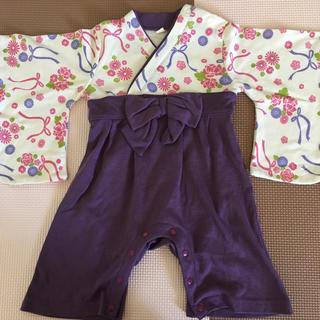 袴風ロンパース(和服/着物)