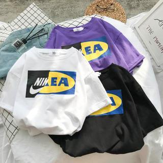 話題沸騰!NIKE IKEAボックスロゴTシャツ 半袖(Tシャツ(半袖/袖なし))