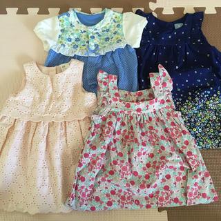 ベビーギャップ(babyGAP)のベビー夏服セット(ワンピース)