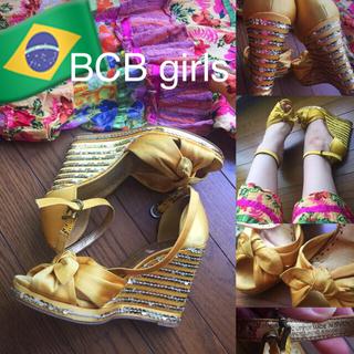 ブラジル BCB girls ウェッジソール 夏 パンプス(ハイヒール/パンプス)