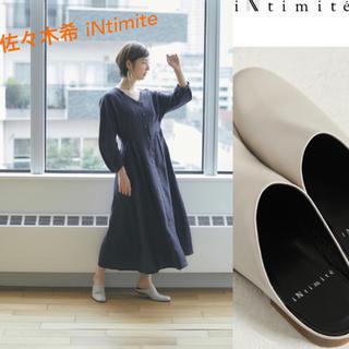 佐々木希ブランド iNtimite 完売品 23 一回履いたのみ(サンダル)