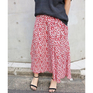 IENA - IENA  レトロフラワースカート