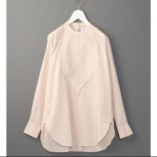 BEAUTY&YOUTH UNITED ARROWS - 6(roku)コットンドビーシャツ ピンクベージュ