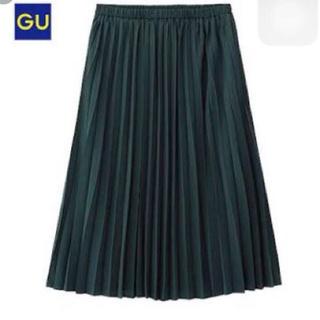 ジーユー(GU)のGU プリーツスカート(ひざ丈スカート)