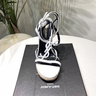 サンローラン(Saint Laurent)のYves Sain lauren サンローラン 靴/シューズ ハイヒール(ハイヒール/パンプス)