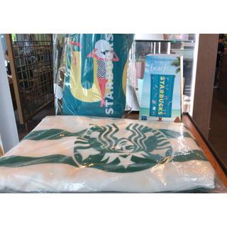 Starbucks Coffee - 韓国限定スターバックス サマービーチタオル&ビーチバッグセット