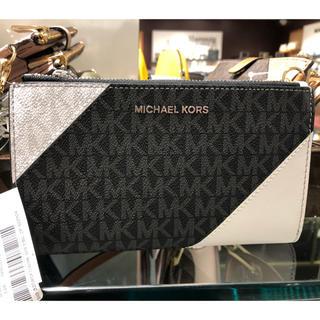 マイケルコース(Michael Kors)のマイケルコース 三色トリカラー 折りたたみ財布 (財布)