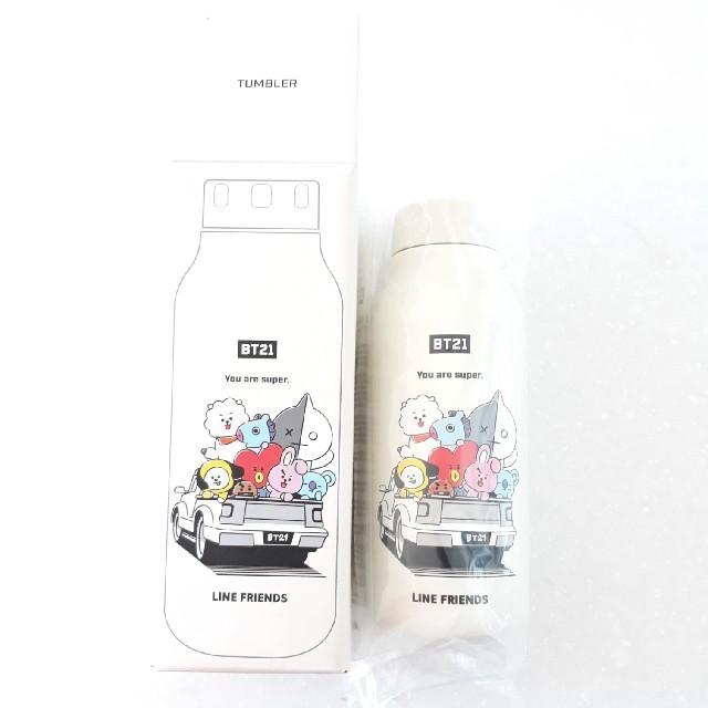 防弾少年団(BTS)(ボウダンショウネンダン)のBT21 ウォーター ボトル 380ml インテリア/住まい/日用品のキッチン/食器(タンブラー)の商品写真