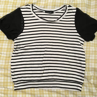イング(INGNI)のTシャツ 半袖 ボーダー トップス (Tシャツ(半袖/袖なし))