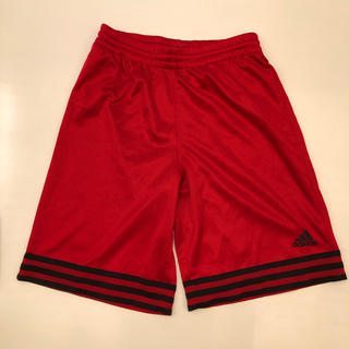 アディダス(adidas)のバスパン  アディダス  赤  150(バスケットボール)