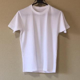UNIQLO - ユニクロ Tシャツ 半袖 メンズ S ホワイト