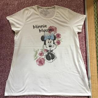 ディズニー(Disney)のミニーマウス Aライン Tシャツ 3Lサイズ(Tシャツ(半袖/袖なし))