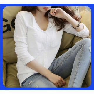 【残りわずか】 ロングTシャツ 体型カバー 韓国 レディース ワンピ 長袖 春夏(Tシャツ(長袖/七分))