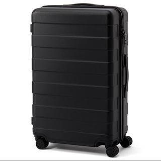 MUJI (無印良品) - スーツケース 無印良品 ハードキャリー(62L)ブラック 黒