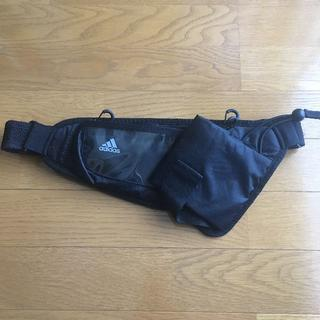 アディダス(adidas)のadidas ランニング LWボトルポーチ 黒(その他)