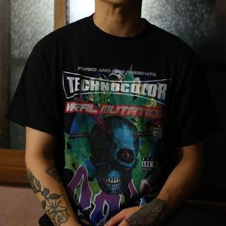 パム(P.A.M.)のpam パム カンナビス コラボtシャツ カワグチジン着用(Tシャツ/カットソー(半袖/袖なし))