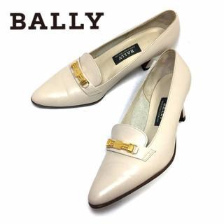 バリー(Bally)の★美品★BALLY*本革製*ローファー風パンプス*22.5cm相当(ハイヒール/パンプス)