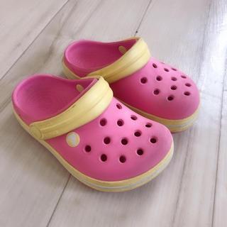 クロックス(crocs)のクロックス ピンク 14.5cm(サンダル)