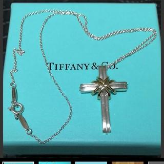 ティファニー(Tiffany & Co.)のティファニー クロスネックレス(ネックレス)