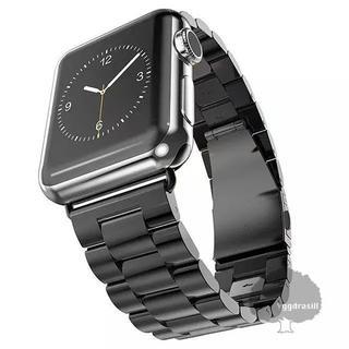YGG★新品 Apple Watch用 腕時計 ベルト 42/44mm 黒