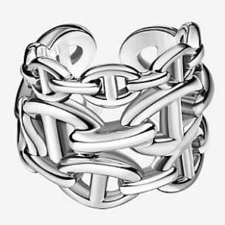 エルメス(Hermes)の正規品  新品同様 エルメス シェーヌダンクル リング(リング(指輪))