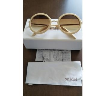 snidel - スナイデル(^-^)可愛い丸サングラス