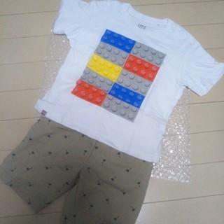 ユニクロ(UNIQLO)のUNIQLO LEGO Tシャツ ハーフパンツ(Tシャツ/カットソー)