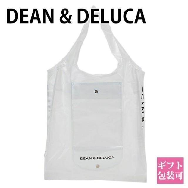 DEAN & DELUCA(ディーンアンドデルーカ)のDEAN&DELUCA ディーン&デルーカ ショッピングバッグエコバッグ クリア レディースのバッグ(エコバッグ)の商品写真