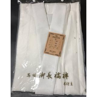 新品未使 夏着物用の長襦袢 日本製 麻混 M  夏襦袢