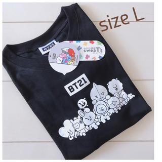 防弾少年団(BTS) - bt21 tシャツ*しまむらコラボ*サイズL