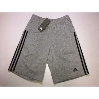 アディダス(adidas)の359アディダス◆パンツ ズボン スウェット グレー系 サイドライン黒系Lサイズ(その他)