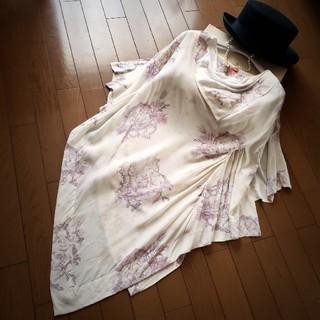 ヴィヴィアンウエストウッド(Vivienne Westwood)のトワレ柄ワインステインカットソー(カットソー(半袖/袖なし))