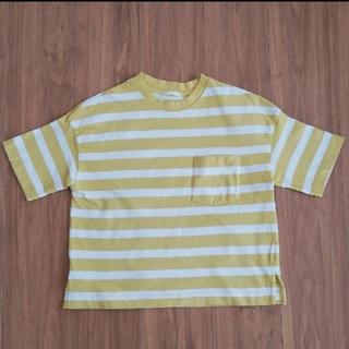ジーユー(GU)のジーユー GU ボーダー Tシャツ   S(Tシャツ(半袖/袖なし))