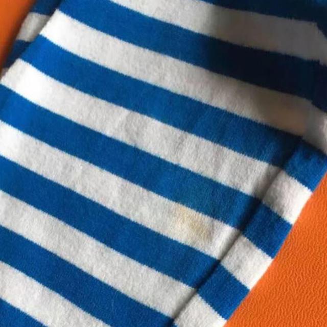 ベルメゾン(ベルメゾン)のボーダーワンピース  ガールズ キッズ/ベビー/マタニティのキッズ服 女の子用(90cm~)(ワンピース)の商品写真
