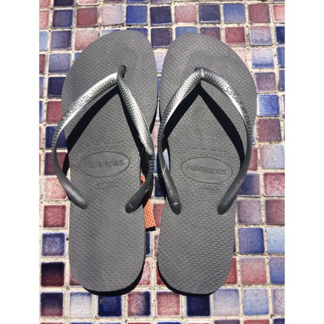 havaianas(ハワイアナス)の192A 新品 アウトレット ハワイアナス ビーチサンダル  レディースの靴/シューズ(ビーチサンダル)の商品写真