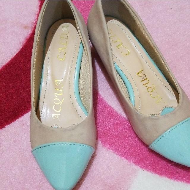 パンプス 21.5 レディースの靴/シューズ(ハイヒール/パンプス)の商品写真