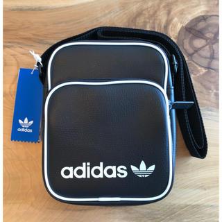 【新品】adidas オリジナルス ショルダーバック ミニバッグ ブラック
