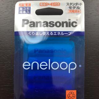 パナソニック(Panasonic)のエネループ 単三4本(バッテリー/充電器)