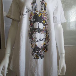 07ec9888073f2 スカラー(ScoLar)の  USED・古着  ScoLar ロングTシャツ(T