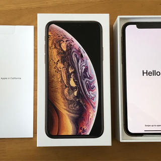 iPhone - 新品 iPhoneXS 256GB SIMロック解除済品 利用制限○ ゴールド