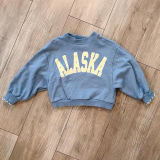 フタフタ(futafuta)のki様専用 alaska ロゴ スウェット コンバース(Tシャツ/カットソー)