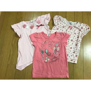 エニィファム(anyFAM)のanyFAM Tシャツ3枚セット 110 女の子(Tシャツ/カットソー)