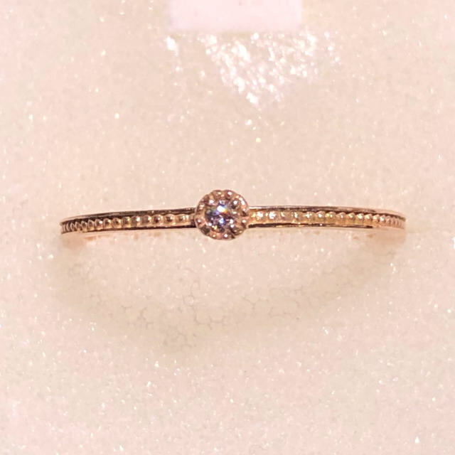 k10 ダイヤモンドリング レディースのアクセサリー(リング(指輪))の商品写真