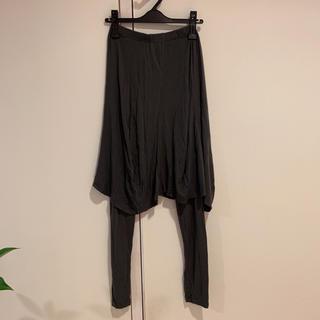 gomme - gomme スカート付きレギンス