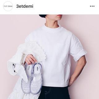 ミナペルホネン(mina perhonen)のfitfor モックネック  tシャツ(Tシャツ(半袖/袖なし))