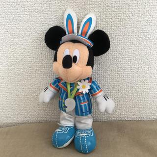 Disney - ディズニー ミッキー ぬいぐるみバッジ イースター 9周年 2016 ぬいば