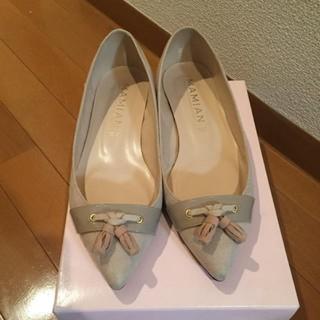マミアン(MAMIAN)のMAMIANフラットシューズ24.5〜25.0㎝(ローファー/革靴)