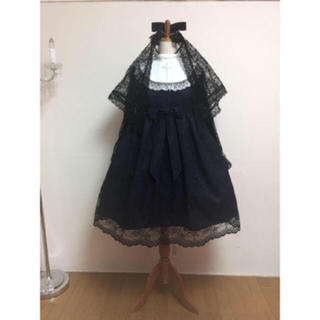 Angelic Pretty - 修道女ワンピース カチューシャ ベール セット